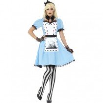 Deluxe Dark Tea Party Costume (Fancy Dress)