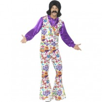 60's Groovy Hippie Costume (Fancy Dress)
