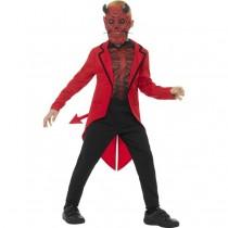 Deluxe Day of the Dead Devil Boy Costume (Fancy Dress)