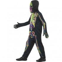 Glow In The Dark Skeleton Kids (Fancy Dress)