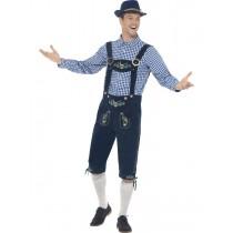 Traditional Deluxe Rutger Bavarian Costume (Fancy Dress)