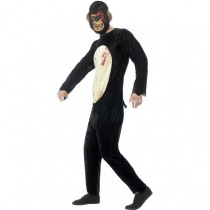 Adult Zombie Chimp Costume (Fancy Dress)  Images
