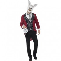Deluxe White Rabbit Costume (Fancy Dress)