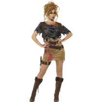 Adult Zombie Huntress Costume