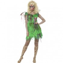 Zombie Fairy Costume (Fancy Dress)