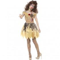 Zombie Golden Fairytale Costume (Fancy Dress)