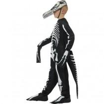 Delixe T-Rex Skeleton Costume (Fancy Dress)