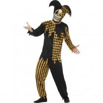 Evil Court Jester Costume (Fancy Dress)
