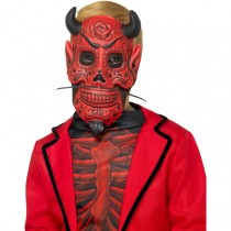 Day of Dead Devil Mask Childs