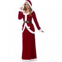 Deluxe Ladies Santa Costume (Fancy Dress)