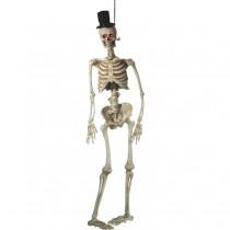 Light Up Latex Hanging Skeleton Groom Decoration