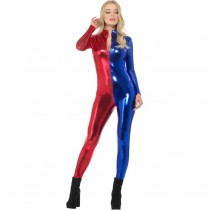 Fever Miss Harlequin Whiplash Costume (Fancy Dress)