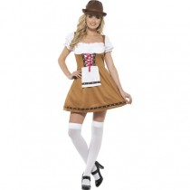 Bavarian Beer Maid Costume (Fancy Dress)