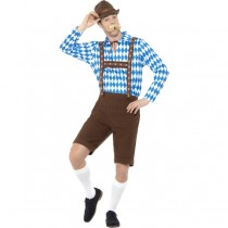 Bavarian Beer Man Costume (Fancy Dress)
