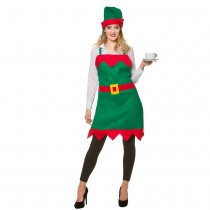 Elf Apron & Hat (One Size)