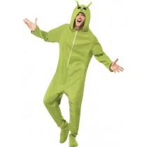 Green Alien Adult Costume