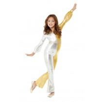 70s Super Chic Costume, Gold