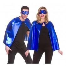 Metalic Superhero Set- BLUE