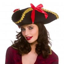 Ladies Tricorn Pirate Hat