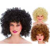 80s Permed Afro Wig