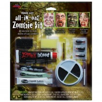 All in One Zombie Makeup Kit
