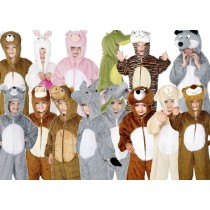 Kids Plush Animal Costumes