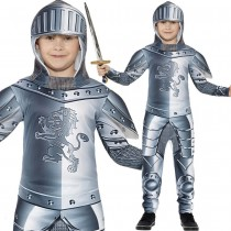 Armoured Knight Costume Boys