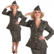 WWII Army Gal