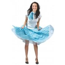 Rock 'n' Roll Skirt - Blue