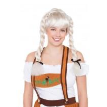 Fraulein Pigtail Wig (Blonde)