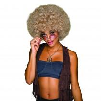 70s Afro Blonde/Brown Wig