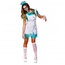 Adult Bloodthirsty Zombie Nurse