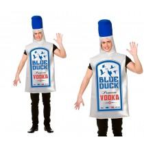 Blue Duck Vodka Adult Costume