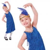 Flapper Dress Blue