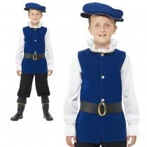 Boys Blue Tudor Outfit