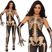 Lady Bones Costume