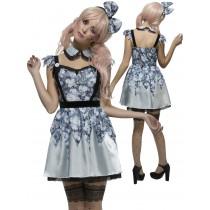 Adult Fever Annie Broken Doll Costume