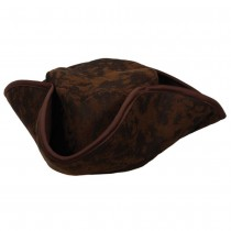 Caribbean Pirate Hat Brown