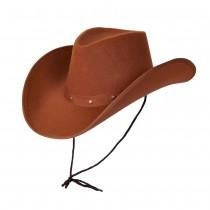 Texan Cowboy Hat Brown