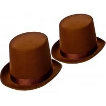 Brown Top Hat - Indestructible