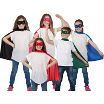 Cape And Mask Set Kids
