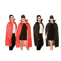 Adult Halloween Cape With High Collar