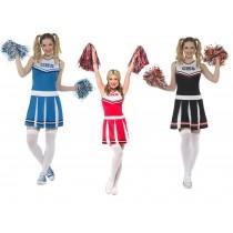 Ladies Cheerleader Costume