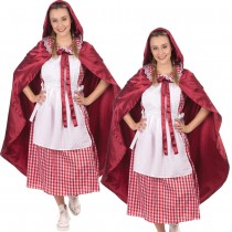 Classic Red Riding Hood Ladies Costume