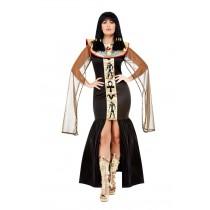 Egyptian Goddess Costume, Black