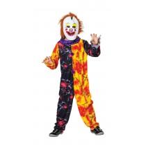 Halloween Clown Boy - Medium