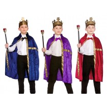 Deluxe Robes Childs King Costumes