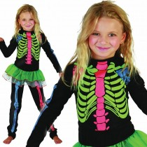 Skeleton Girl Multicoloured
