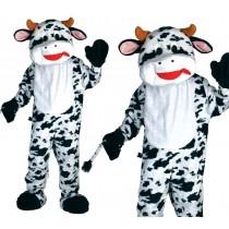 Deluxe Cow Mascot