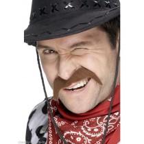 Cowboy Moustache Brown